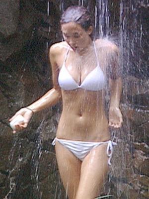Myleene Klass in I'm A Celebrity, 2006