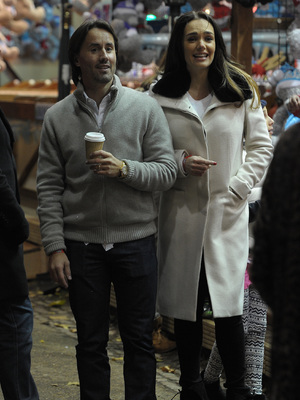 Tamara Ecclestone and husband Jay Rutland enjoy an evening at Winter Wonderland in Hyde Park, 21.11.13