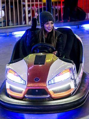 'The X Factor' finalists visit Hyde Park Winter Wonderland, London, Britain - 21 Nov 2013 Nicole Scherzinger
