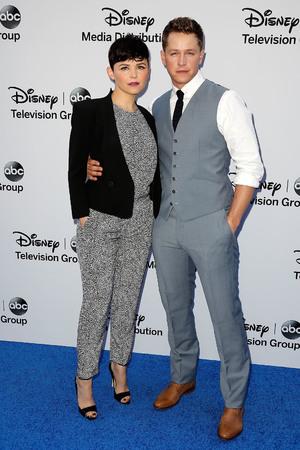 Disney Media Networks International Upfronts held at The Walt Disney Studios Lot - Ginnifer Goodwin, Josh Dallas 19.5.2013