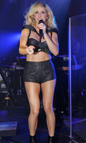 Ellie Goulding performs live at G-A-Y. 11/16/2013 London, United Kingdom