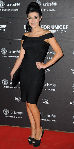 Kym Lomas at the UNICEF Charity Gala Dinner held at the Old Trafford, Manchester - 21 November 2013