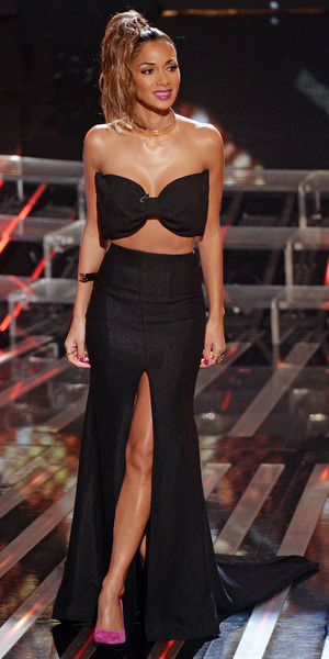 Nicole Scherzinger on The X Factor, London - 16 November 2013