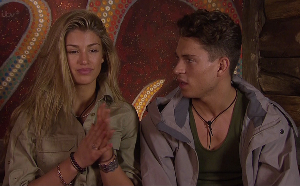 I'm A Celebrity... Get Me Out Of Here!, Shown on ITV1 HD Joey Essex, Amy Willerton (17/11/13)
