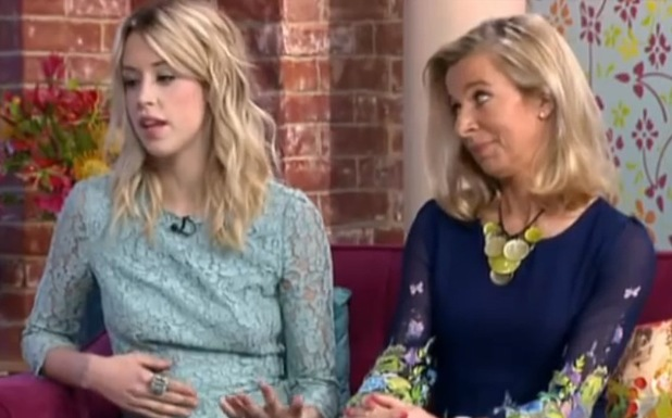 Peaches Geldof and Katie Hopkins on This Morning - November 2013