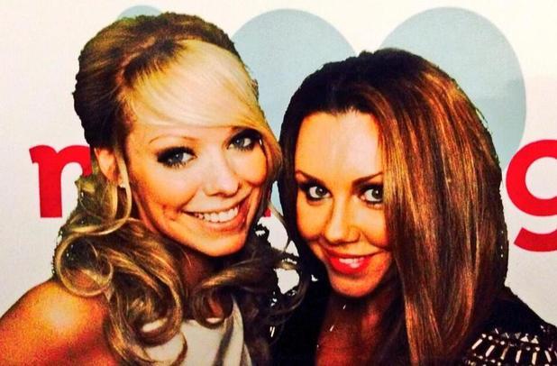 The Big Reunion stars attend ITV 25th anniversary party in London. Michelle Heaton and Liz McClarnon (18 November).