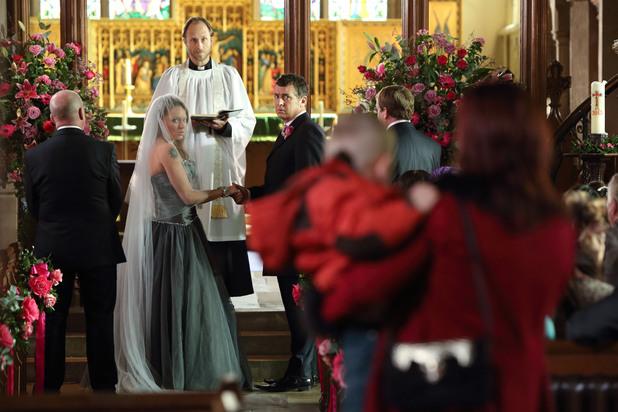 EastEnders, will Kat stop the wedding?, Mon 25 NOv