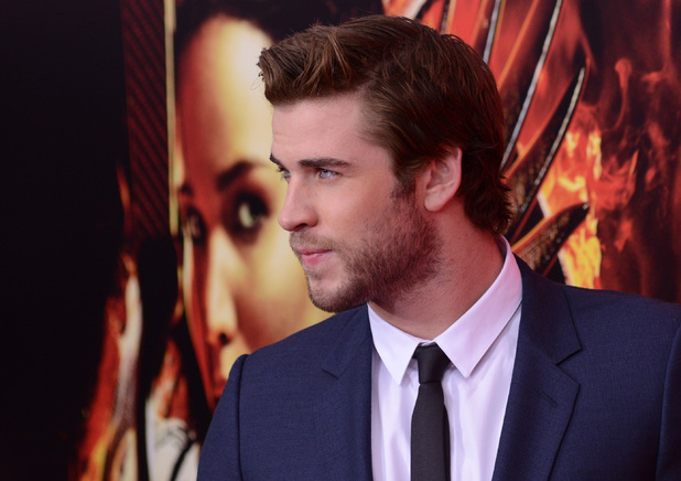 Liam Hemsworth at the NY Special Screening of The Hunger Games Catching Fire, Nov 13