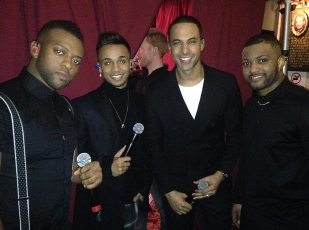 JLS at Strictly Come Dancing, Blackpool, November 2013