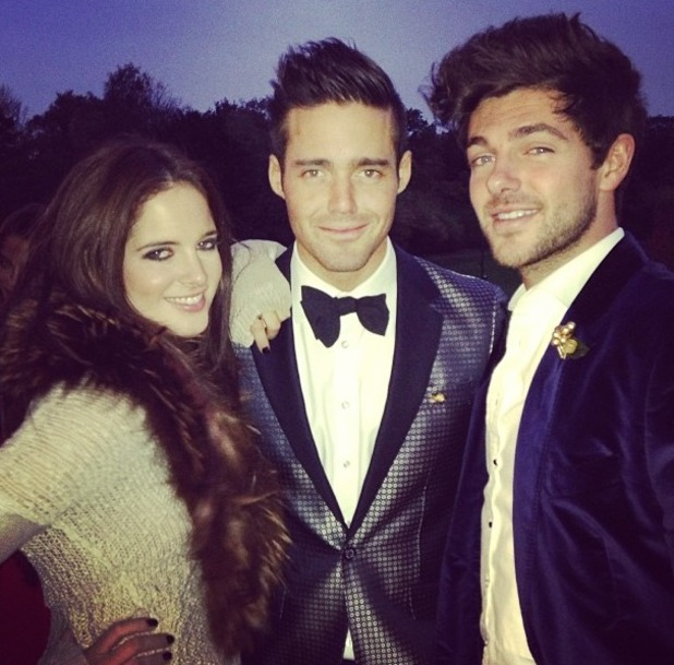 Made In Chelsea's Cheska Hull shares Instagram picture of Spencer, Binky and Alex, Nov 13.