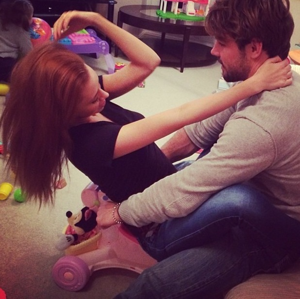 Una Healy and Ben Foden re-create Kanye West's 'Bound 2' music video with Kim Kardashian - 21.11.2013