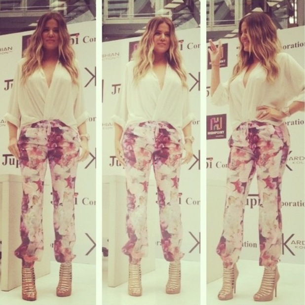 Khloe Kardashian promoting Kardashian Kollection in Melbourne, Australia - 20 November 2013