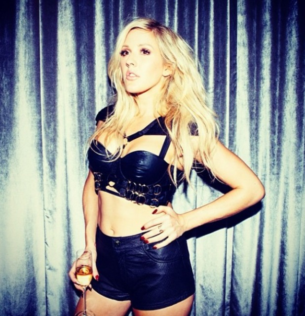 Ellie Goulding Instagram picture of herself at GAY, Nov 13.