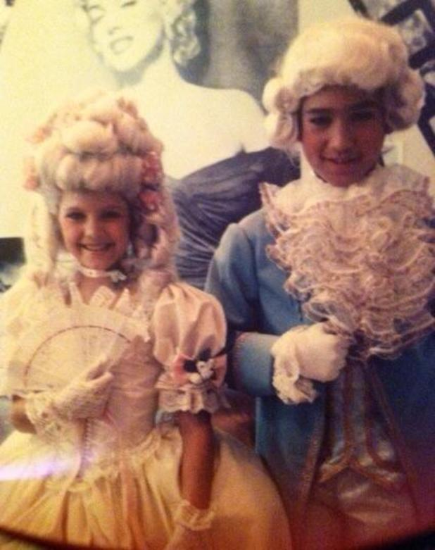 Mario Lopez shares childhood photo of Fergie when the pair both starred in 80s TV show, Kids Incorporated.