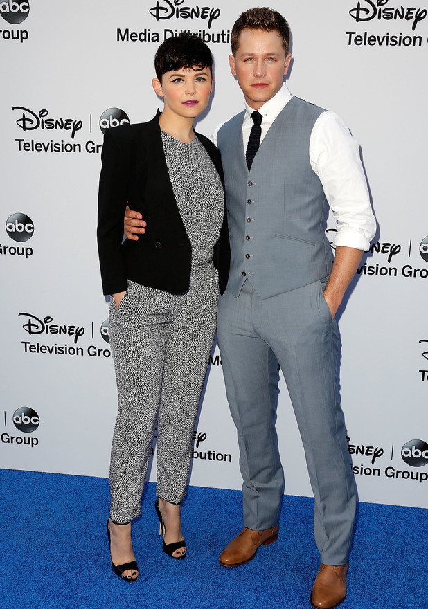 Disney Media Networks International Upfronts held at The Walt Disney Studios Lot - Ginnifer Goodwin, Josh Dallas 19.5.2013