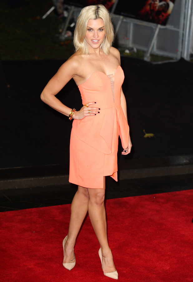 Ashley Roberts at the premiere of 'The Hunger Games: Catching Fire' held at the Odeon Leicester Square - 11 November 2013