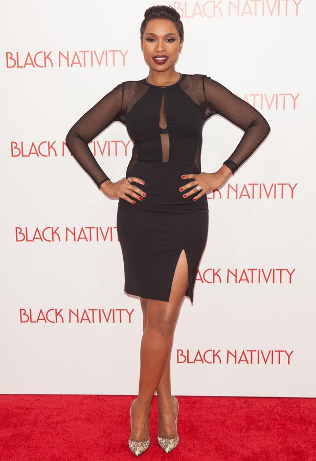 Jennifer Hudson at the New York Premiere of 'Black Nativity' at the Apollo Theater - 18 November 2013