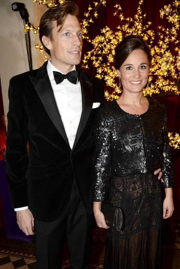 Pippa Middleton and Nico Jackson attend The Sugarplum Dinner in London, 20.11.13