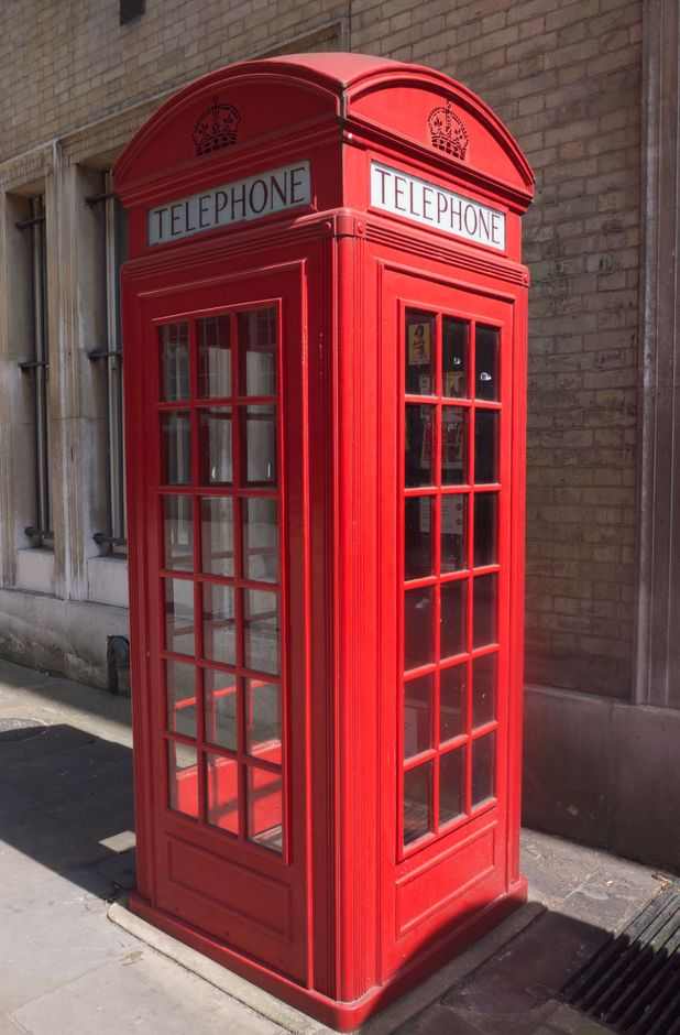 Traditional Red Telephone Boxes, London May 2011