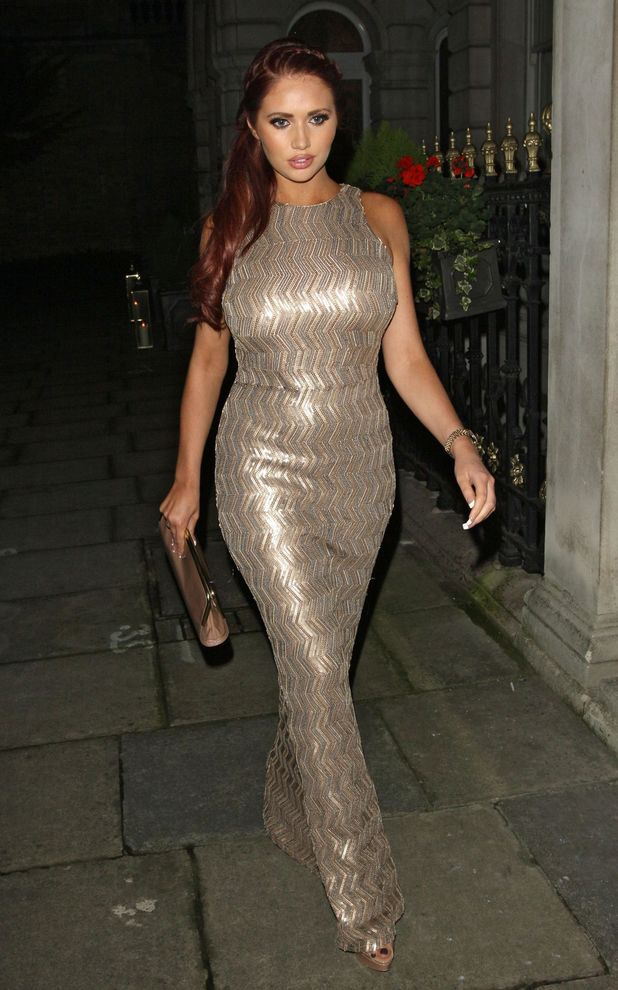 John Caudwell party, London, Britain - 18 Nov 2013 Amy Childs