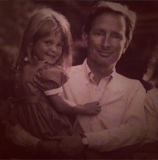 Millie Mackintosh posts throwback picture of her and her dad, 16.11.13