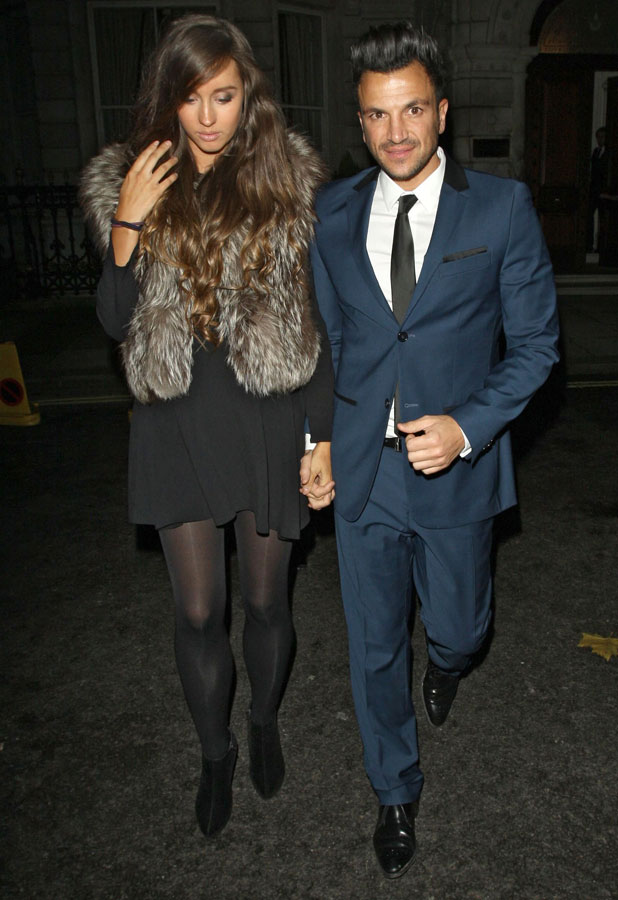 Peter Andre and Emily MacDonagh, John Caudwell party, London, Britain - 18 Nov 2013