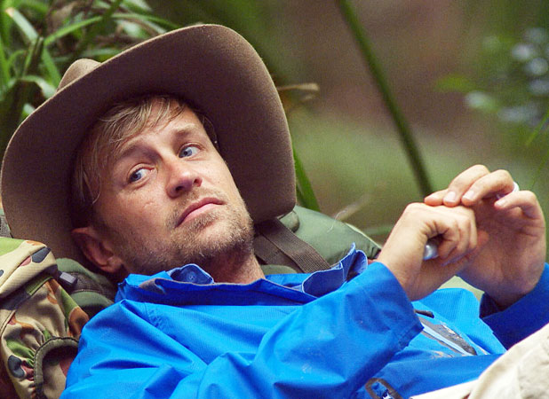 I'm A Celebrity Get Me Out Of Here 2013: Kian Egan at camp, 19 November 2013