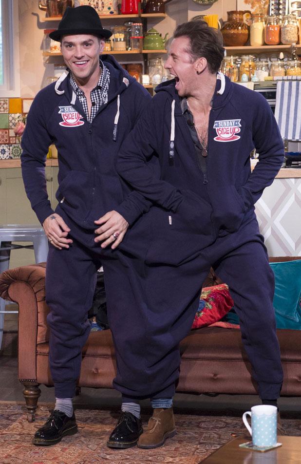 'Sunday Side Up' TV Programme, London, Britain. - 17 Nov 2013 McBusted, Matt Willis and Danny Jones