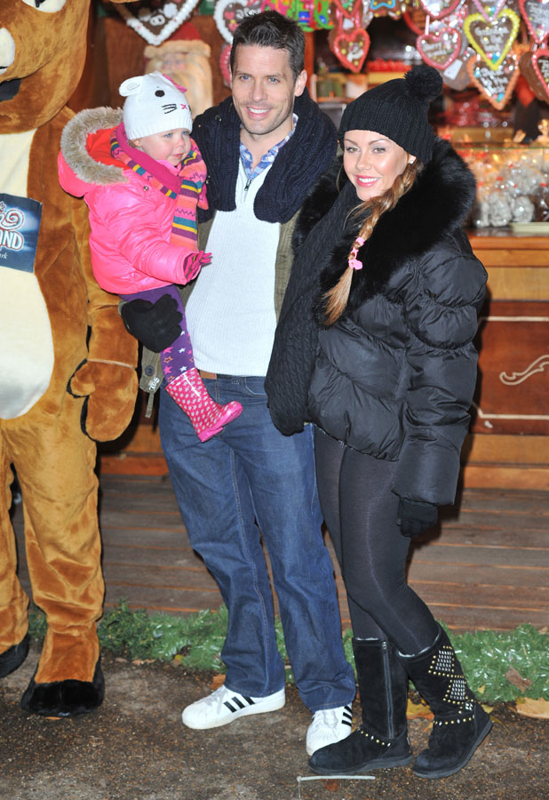 Michelle Heaton, Hyde Park Winter Wonderland opening - Arrivals, 21 November 2013