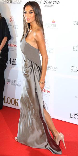 Nicole Scherzinger, The 4th Annual Global Gift Gala held at ME hotel - Arrivals, 19 November 2013