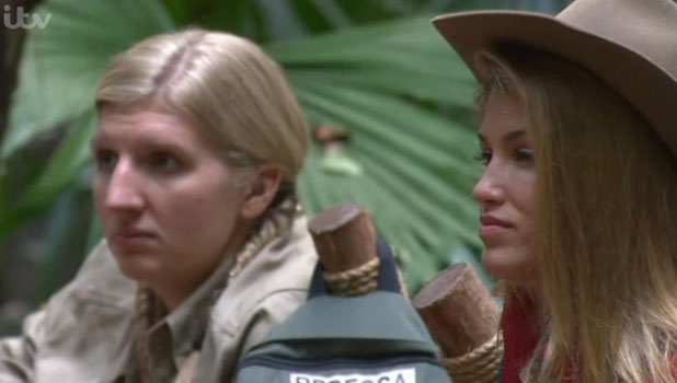 I'm A Celebrity Get Me Out Of Here 2013: Rebecca Adlington and Amy Willerton, 21 November 2013