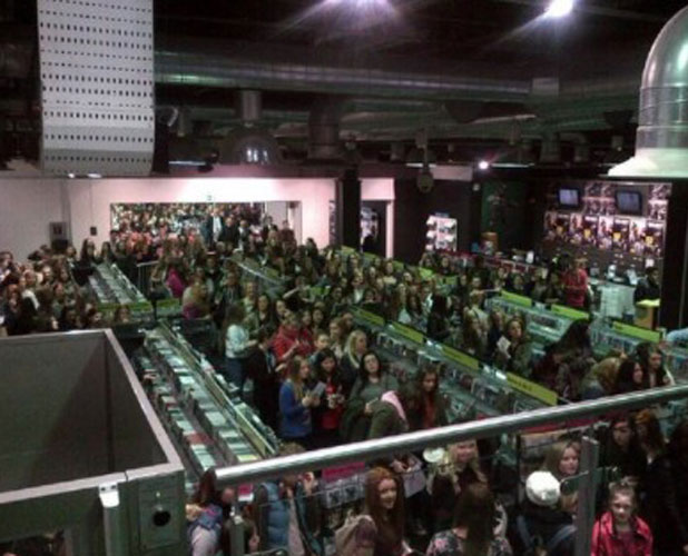 The Wanted's album signing at HMV Dundrum, 19 November 2013