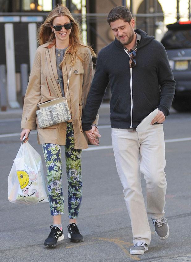 Whitney Port and boyfriend Tim Rosenman in New York City 3 May 2013