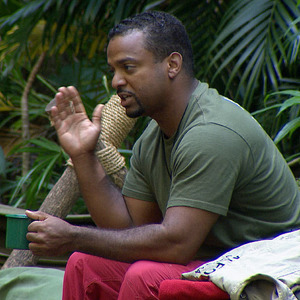 Alfonso Ribeiro loses his rag with Matthew Wright during I'm A Celebrity, 29 November 2013