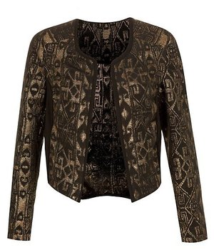 Jacket, £34.99, Kelly Brook for New Look