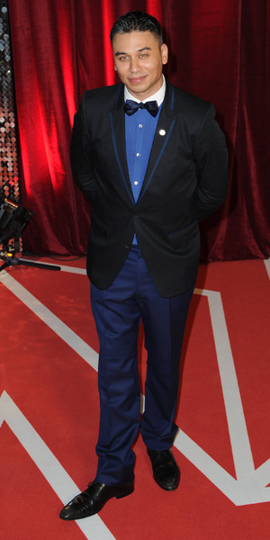 Ricky Norwood attends The British Soap Awards 2013 held at Media City