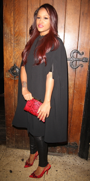 Eve attends Rita Ora's birthday celebrations at Box club in London, Soho - 26 November 2013