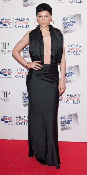 Jessie J arrives at Capital Rocks at The Roundhouse, London, 28 November 2013