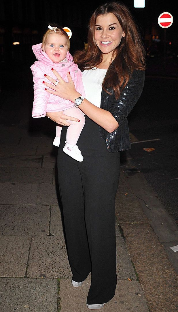 Perfect Eyelashes Party, London, Britain - 28 Nov 2013 Imogen Thomas and Ariana Siena