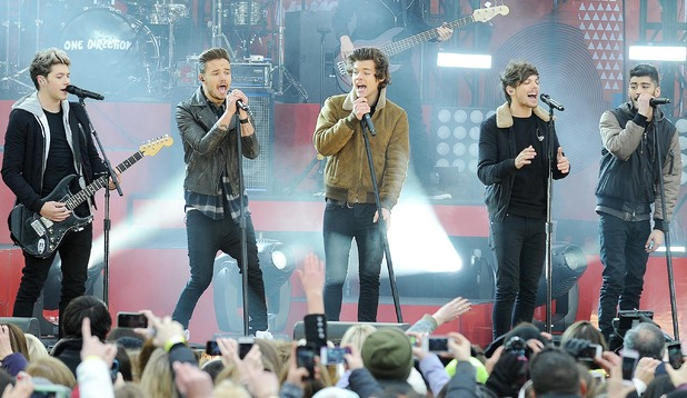 'Good Morning America' TV show, New York, America - 26 Nov 2013 Niall Horan, Harry Styles, Louis Tomlinson, Zayn Malik, Liam Payne