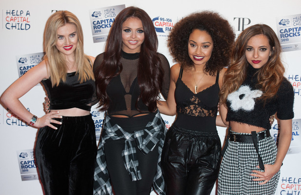 Little Mix arrive at Capital Rocks at The Roundhouse, London, 28 November 2013