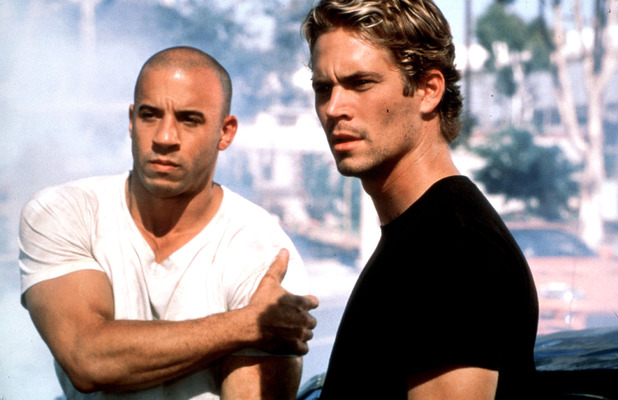 Vin Diesel and Paul Walker star in the high-octane Fast & Furious, 2001