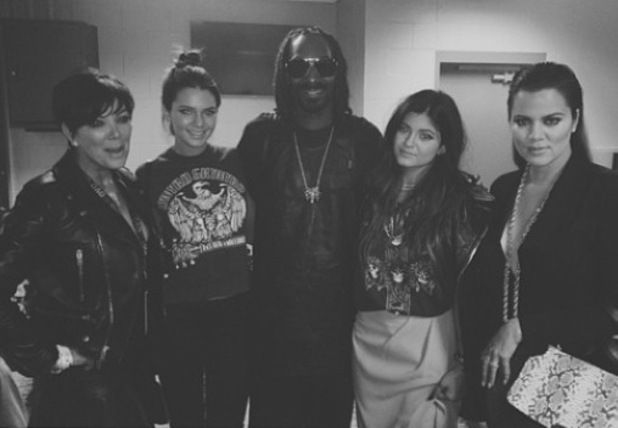 The Kardashians/ Jenners hang out with Snoop Dogg - 26 November 2013