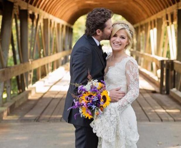 Kelly Clarkson marries Brandon Blackstock, 20 October 2013