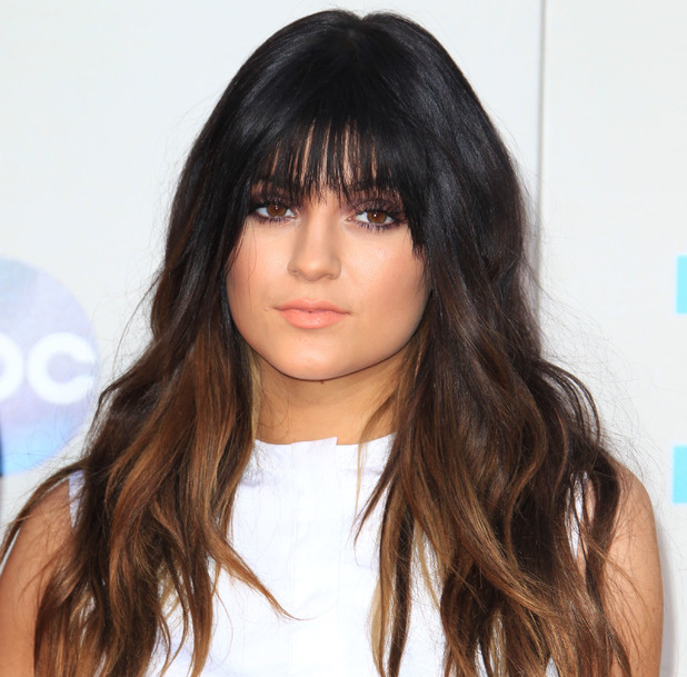 2013 American Music Awards held at Nokia Theatre - Arrivals - 24 November 2013 Kylie Jenner