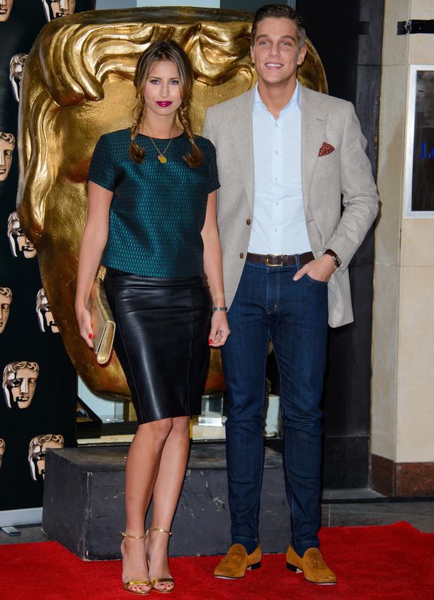 The British Academy Children's Awards held at the London Hilton, Park Lane - Arrivals - Ferne McCann, Lewis Bloor - 24 November 2013