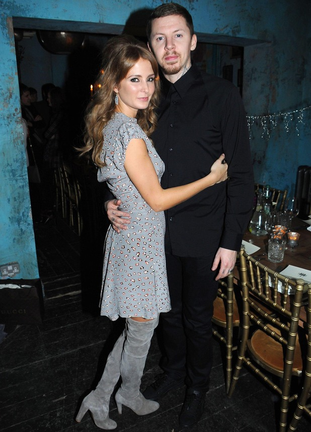 Professor Green Birthday party, London, Britain - 27 Nov 2013 Millie Mackintosh and Professor Green