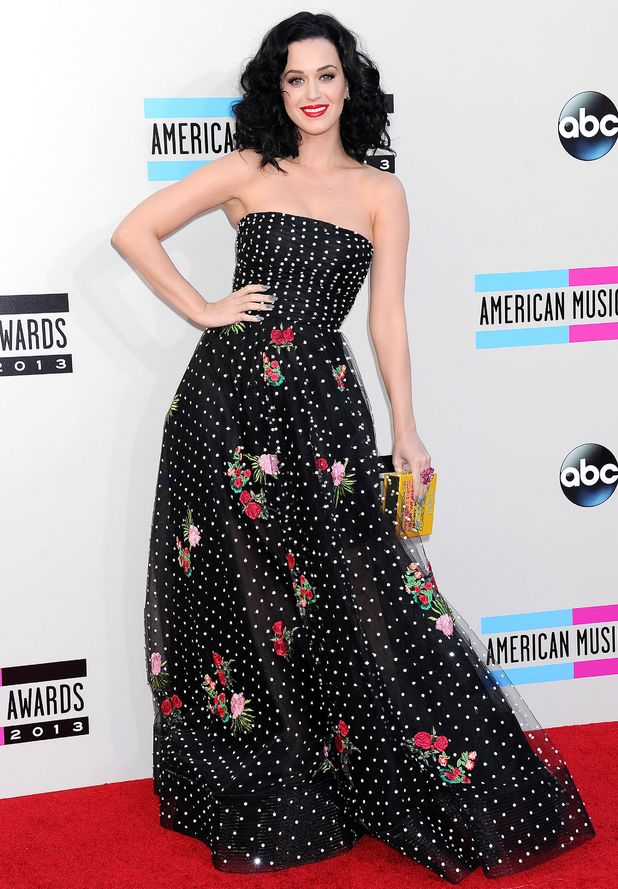 Katy Perry, American Music Awards, Arrivals, Los Angeles, America - 24 Nov 2013