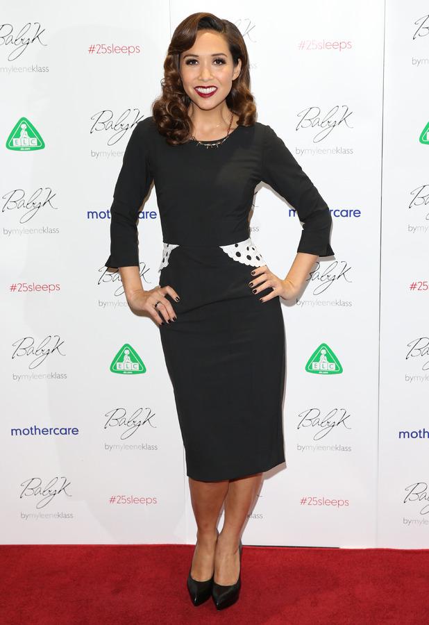Myleene Klass at the Mothercare VIP Christmas party in London - 28 November 2013