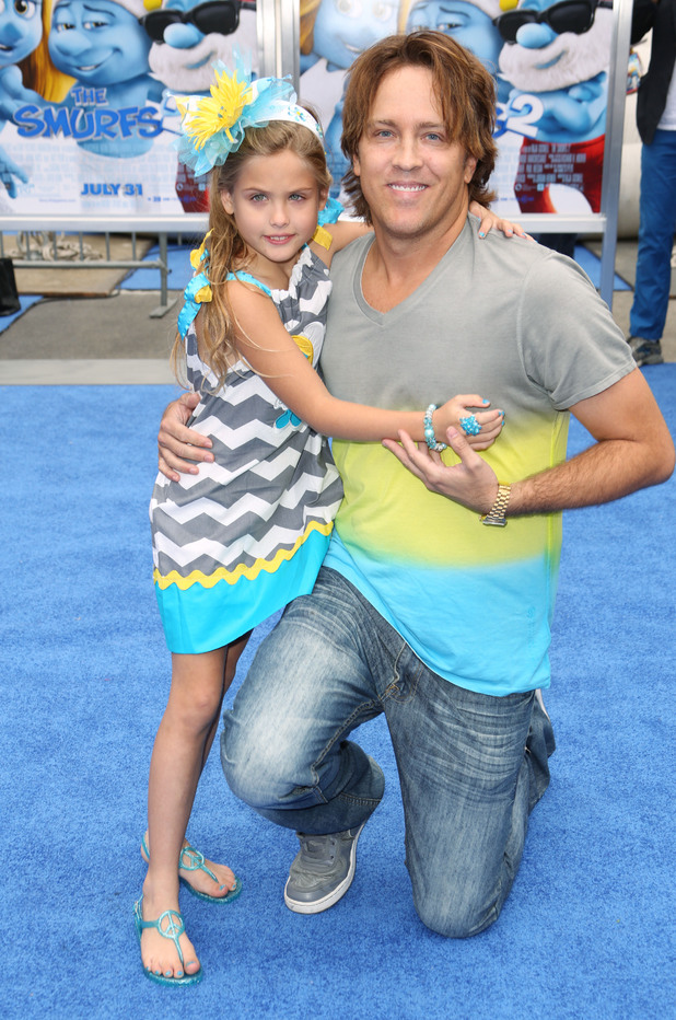 'The Smurfs 2' film premiere, Los Angeles, America - 28 Jul 2013 Dannielynn Birkhead and Larry Birkhead 28 Jul 2013